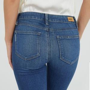 PAIGE Verdugo Ankle Blue Wash Jeans Size 26